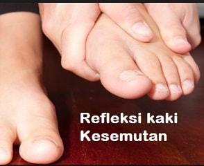 Mengobati Kesemutan di kaki dengan refleksi