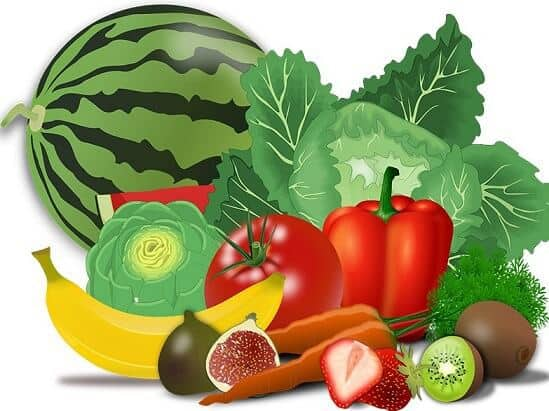 Konsumsi buah-buahan