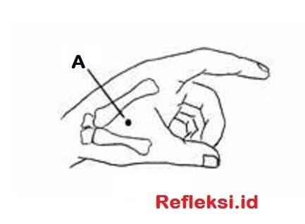 Refleksi tangan Untuk Migrain