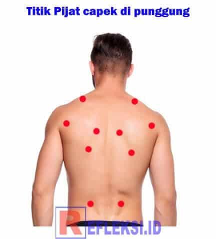 Titik simpul otot punggung