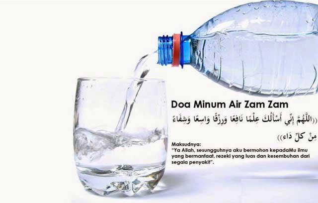 Doa minum air zam-zam